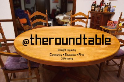 Callout for @theroundtable Arts Podcast Guests