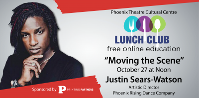 """Moving the Scene"" Lunch Club with Justin Sears-Wa..."
