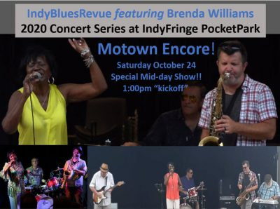 IndyBluesRevue featuring Brenda Williams: MOTOWN E...