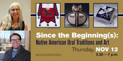 Since the Beginning(s): Native American Oral Traditions and Art