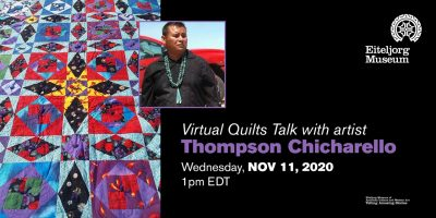 Virtual Quilts Talk with artist Thompson Chicharello
