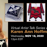 Virtual Artist Talk Series with Karen Ann Hoffman