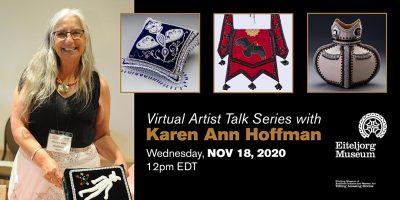 Virtual Artist Talk Series with Karen Ann Hoffman
