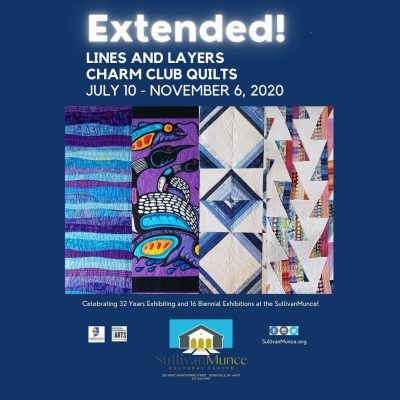 Lines and Layers: Charm Club Quilts Exhibition