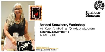 Virtual Beading Strawberry Workshop with Karen Ann Hoffman (Oneida of Wisconsin)
