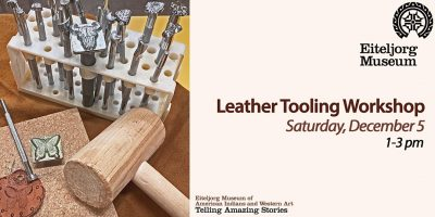 Leather Tooling Workshop