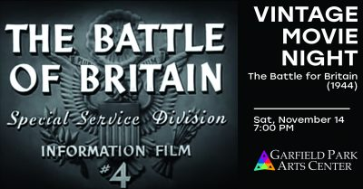 Virtual Vintage Movie Night: The Battle of Britain (1944)