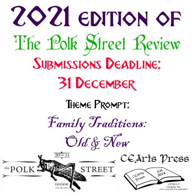 Submissions Sought for 2021 Edition of The Polk Street Review