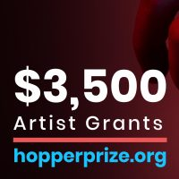 Hopper Prize Announces $3,500 Artist Grants