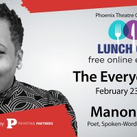 """""""The Everyday Poet"""" with Manon Voice * Phoenix Lunch Club Series"""