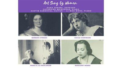 Duckwall Artist Series: Dana Zenobi, soprano and C...