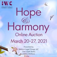Hope & Harmony IWC's online auction welcoming the promise of spring