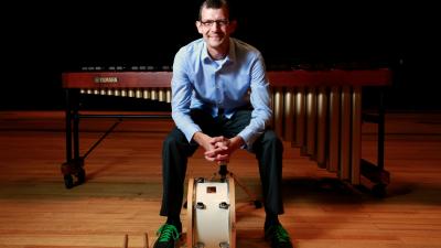 Duckwall Artist Series: Jon Crabiel, percussion