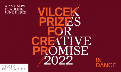 Open Call: 2022 Vilcek Prizes for Creative Promise...