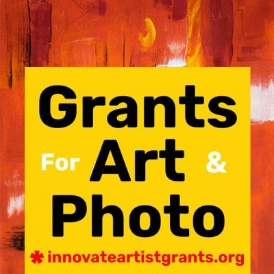 $550.00 Innovate Grants — Call for Artists + Pho...