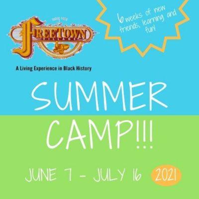 Freetown Village 2021 Summer Camp