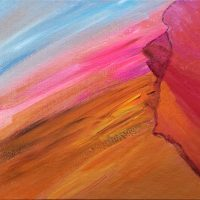 """Full Circle Nine Gallery Features Dawn Cooper, """"The Color of Gratitude,"""" for May First Friday"""
