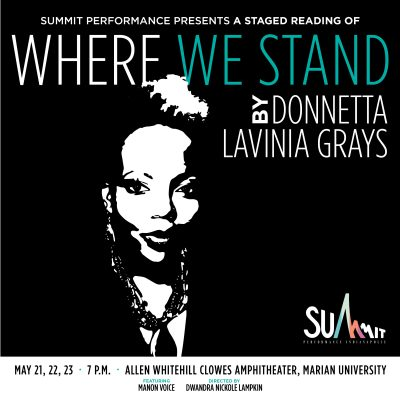 Where We Stand by Donnetta Lavinia Grays, a staged...