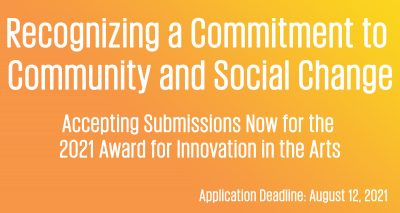 Call to Artists and Art Organizations: 2021 ISC In...