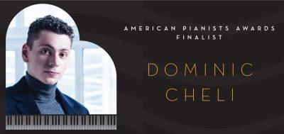 American Pianists Awards - Dominic Cheli solo reci...