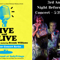 LIVE and ALIVE - IndyBlues Review with Brenda Williams - 3rd annual Night Before the Race Concert