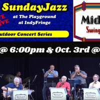 LIVE and ALIVE - Sunday Jazz at the Playground - MidCoast Swing Orchestra