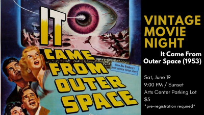 Vintage Movie Night┃It Came From Outer Space (1953)