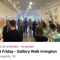 First Friday Gallery Walk - Beth Clary Fine Art