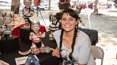 Laughter & Resilience Artist Talk Series with Kathleen Wall (Jemez Pueblo)