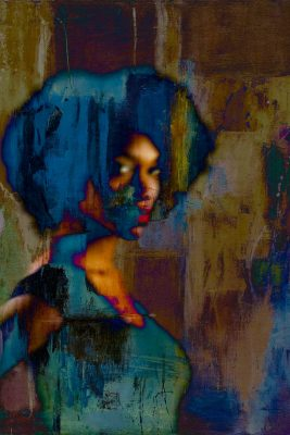 """Full Circle Nine Gallery Features Eric Schoch, """"Channeling Nina Simone"""" for August First Friday"""
