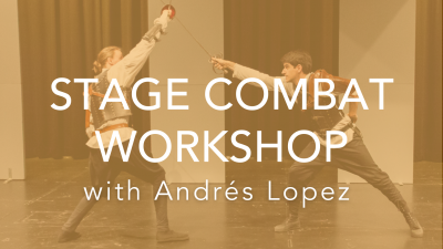 Stage Combat Workshop: Unarmed and Single Sword