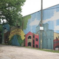 Pogue's Run / Holy Cross Neighborhood Mural