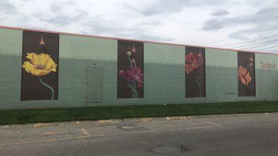 Posh Petals Mural