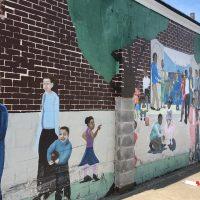 Pre-Enactment Mural at Monon 16