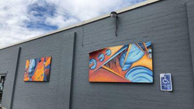 Percolate Irvington Murals