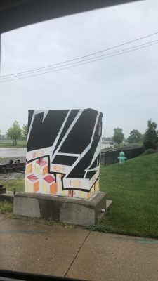 Geometric Traffic Signal Box