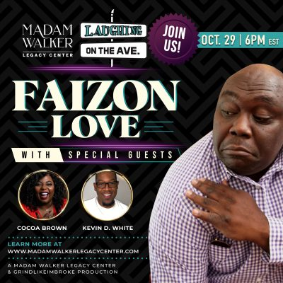 Laughing on the Ave with Faizon Love, Coco Brown, ...