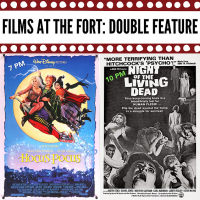 Films at the Fort: Hocus Pocus and Night of the Living Dead Double Feature