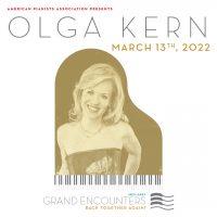 Grand Encounters: Olga Kern