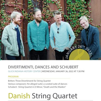 Ensemble Music Society presents Danish String Quar...