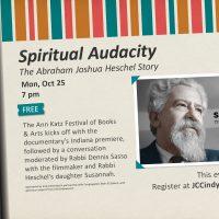 Spiritual Audacity: The Abraham Joshua Heschel Story Ann Katz Festival of Books and Arts