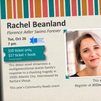 Jennifer Beanland - Florence Adler Swims Forever - Ann Katz Festival