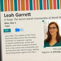 Leah Garrett - X Troop: The Secret Jewish Commandos of WWII - Katz Fest