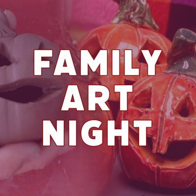 Family Art Night | Clay Pumpkins