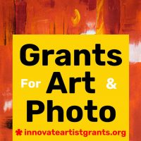 $550.00 Innovate Grants for Artists + Photographer...
