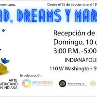 """""""Identidad, Dreams y Marchas!,"""" a visual art collection featuring artists of Mexican heritage"""