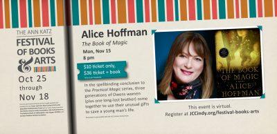 Alice Hoffman - Ann Katz Festival of Books and Art...