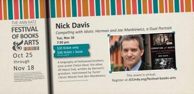 Nick Davis - Ann Katz Festival of Books and Arts