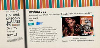 Joshua Jay: How Magicians Think Katz Festival