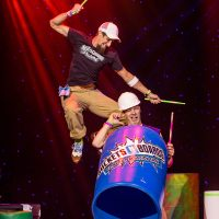 Buckets N Boards Comedy Percussion Show